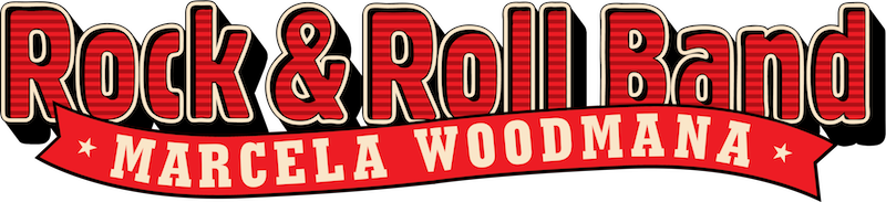 Rock'N'Roll Band Marcela Woodmana logo
