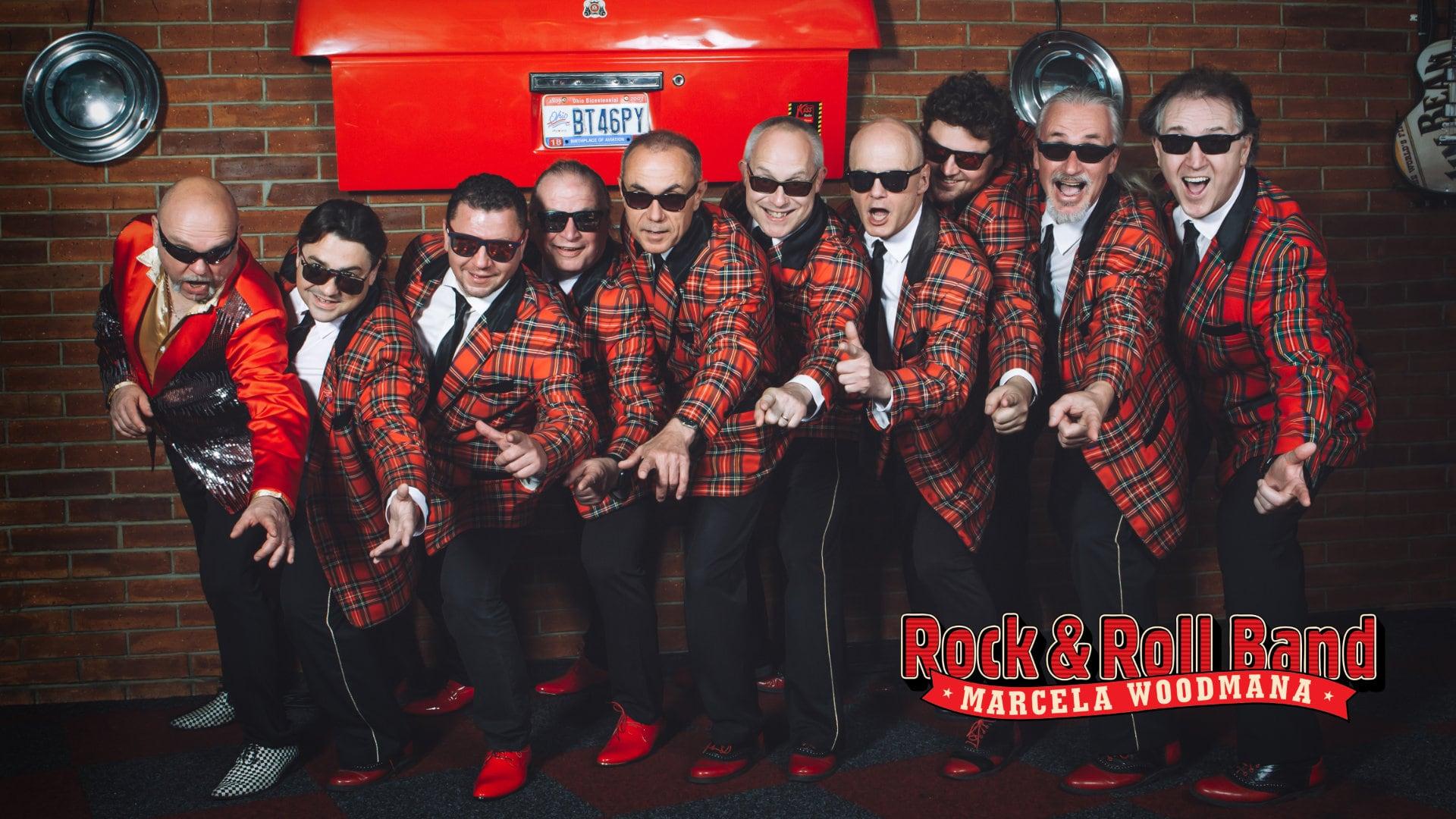Rock&Roll Band Marcela Woodmana